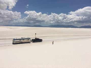 White Sands, New Mexico. Airstream Family Road Trip!