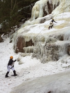 Ice Climbing in New Hampshire
